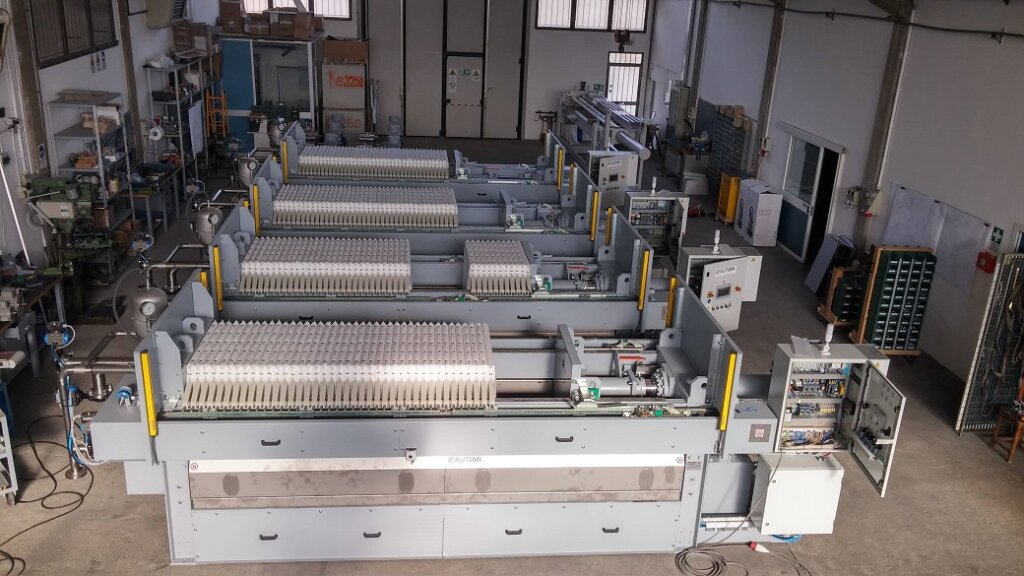 automatic filterpress one by one 5