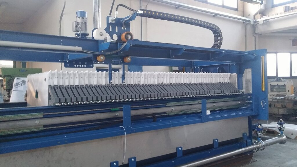 automatic filterpress one by one 4