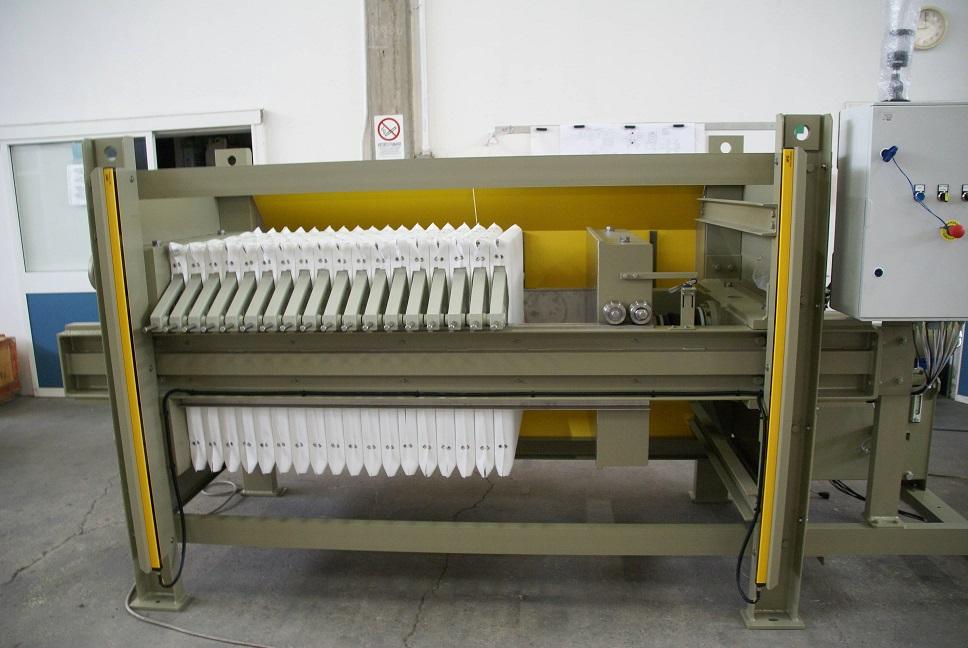 Semiautomatic Filterpress 5