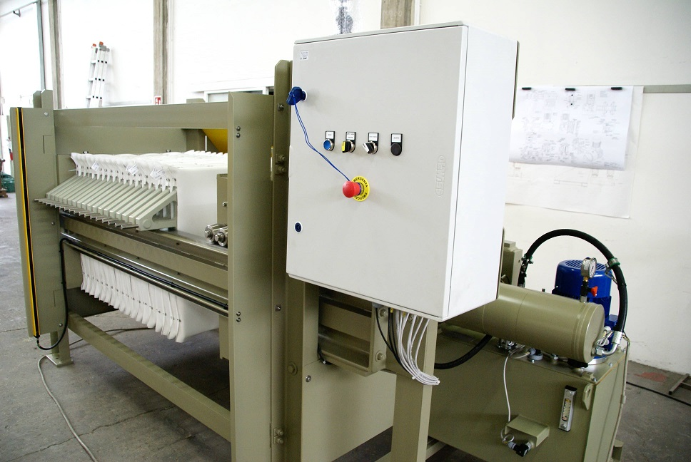Semiautomatic Filterpress 4